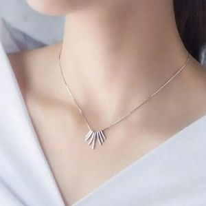 NEW 925 STERLING SILVER PLATED TASSEL NECKLACE